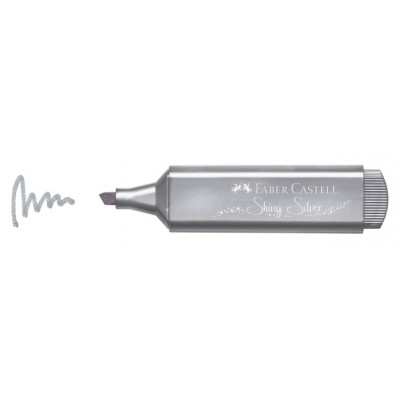 Faber-Castell szövegkiemelő metal - ezüst