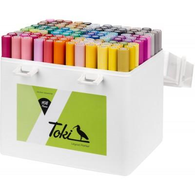 Toki 108 db-os alkoholos marker készlet