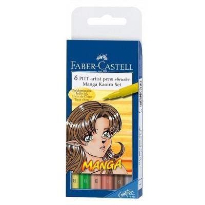 Faber-Castell Manga 6db-os ecsetfilc