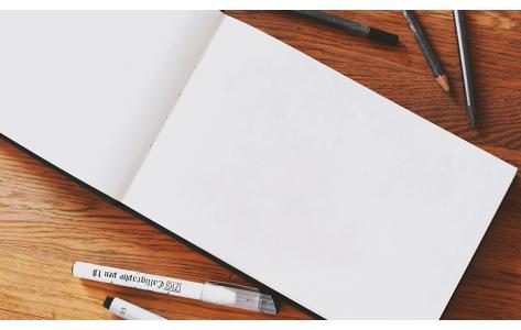 Rajztömbök és sketchbookok