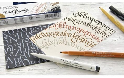 Kalligráfia és marker tömbök