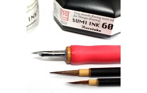 Tinták és mártogatós tollak