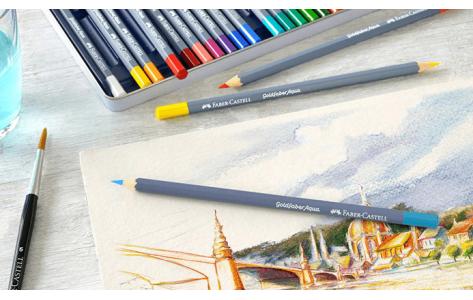 Akvarell ceruzák